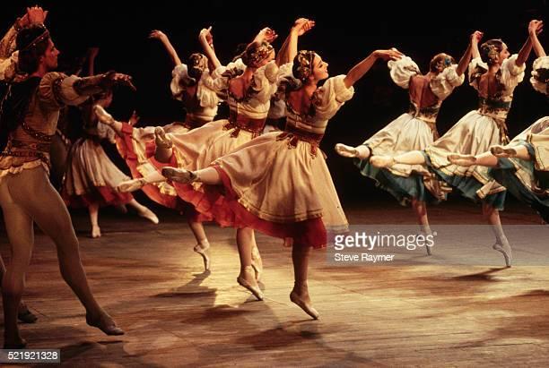 Ballet Dancers Performing Swan Lake