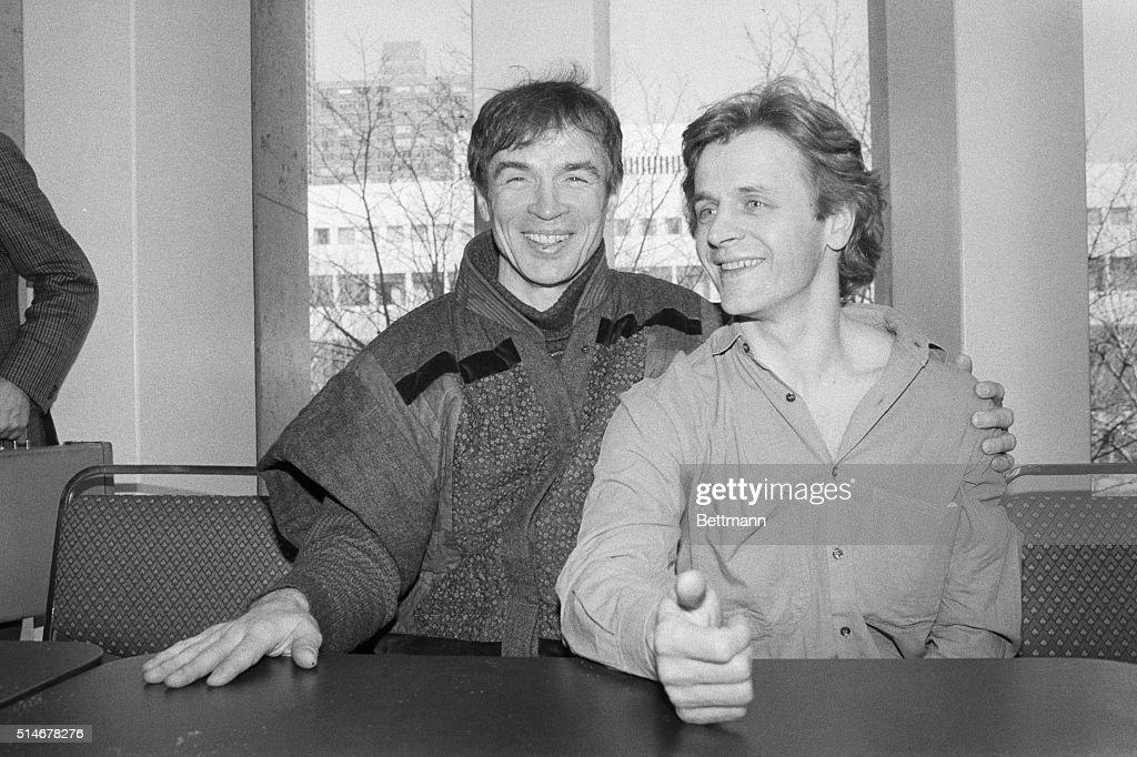 nureyev and baryshnikov