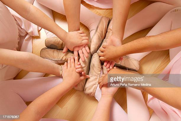 Ballet feets and hands