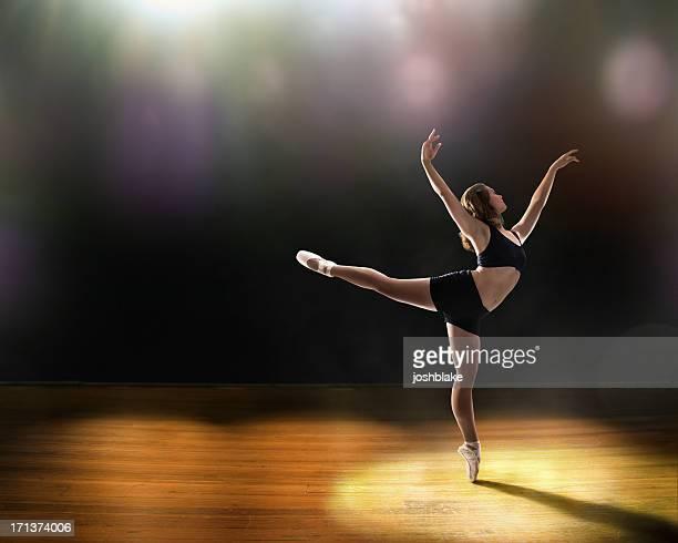 バレエのステージ