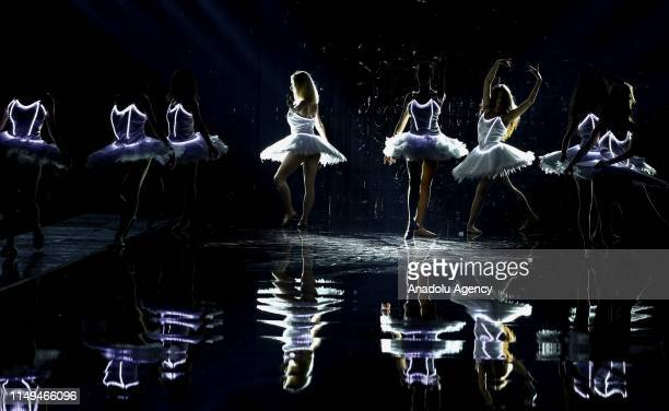 Ballet performance held at Dosso Dossi Fashion Show in Antalya, Turkey on June 12, 2019.