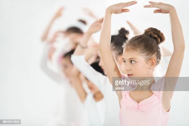 Ballet practice.