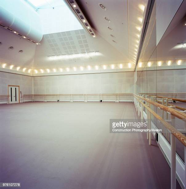 Ballet rehearsal studio in the Royal Opera House Covent garden London United Kingdom