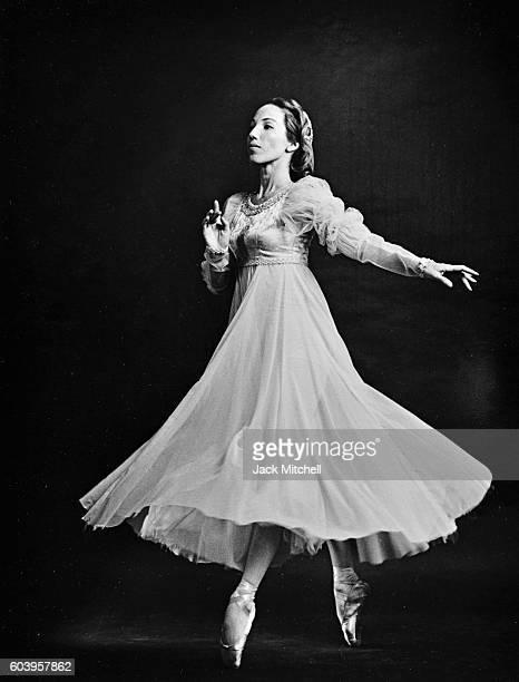Ballet Russe de Monte Carlo dancer Yvonne Chouteau , in 'Romeo and Juliet', 1963.