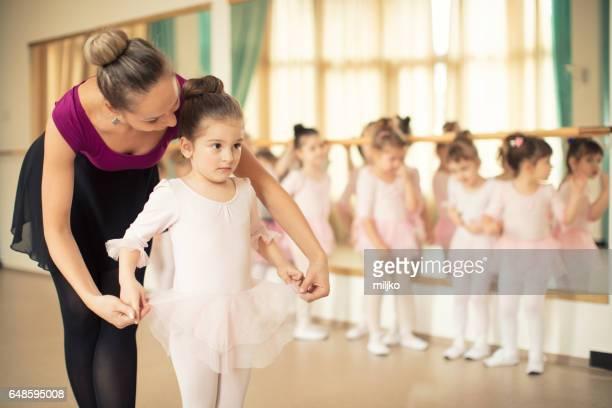 Clase de la escuela de ballet