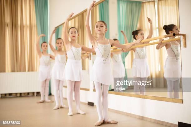 Ballet school class