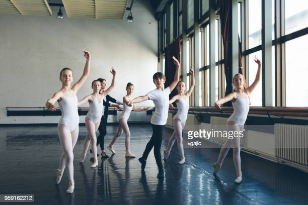 ballet school - ballet stock pictures, royalty-free photos & images