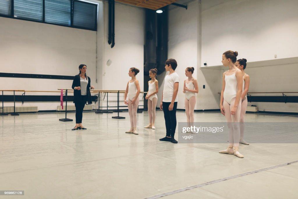 Ballet school : Stock Photo