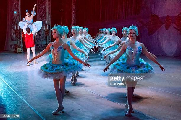 Ballet The Sleeping Beauty at the Kyiv Opera and Ballet in Kiev, Ukraine, on 15 September 2016.