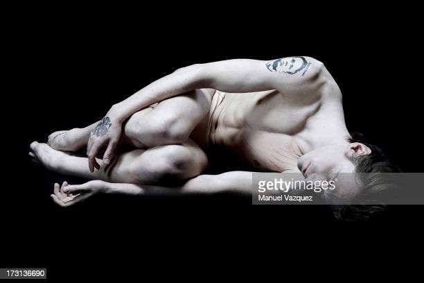 Ballett dancer Sergei Polunin is photographed for the Sunday Times magazine on February 19 2013 in London England