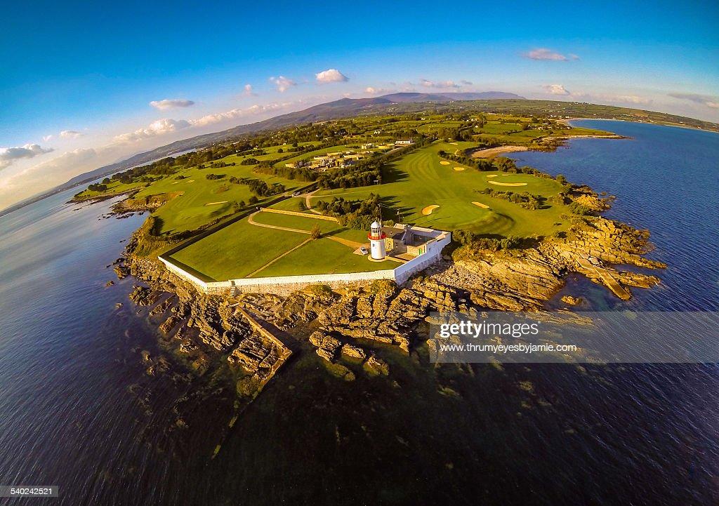 Ballinacourty Lighthouse : Stock Photo