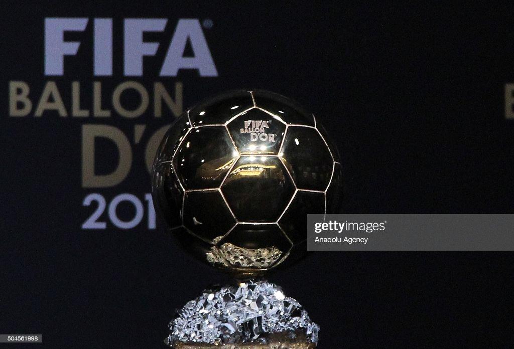 FIFA Ballon d'Or ceremony in Zurich : News Photo