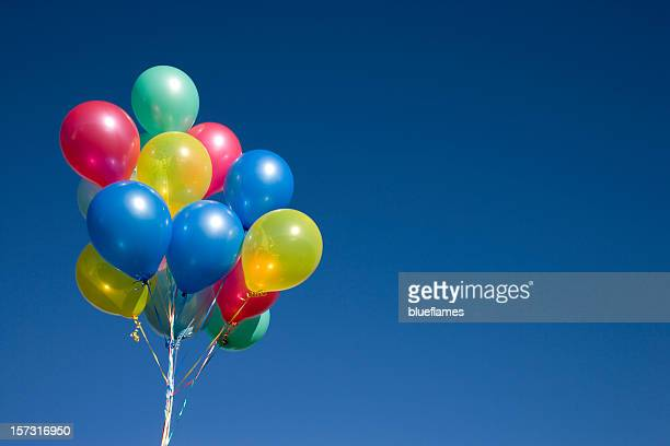 ballons on blue (XXL)