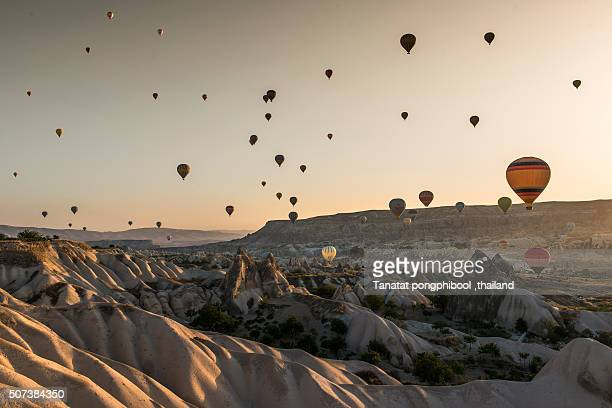 Balloon Air at Cappadocia in Turkey.