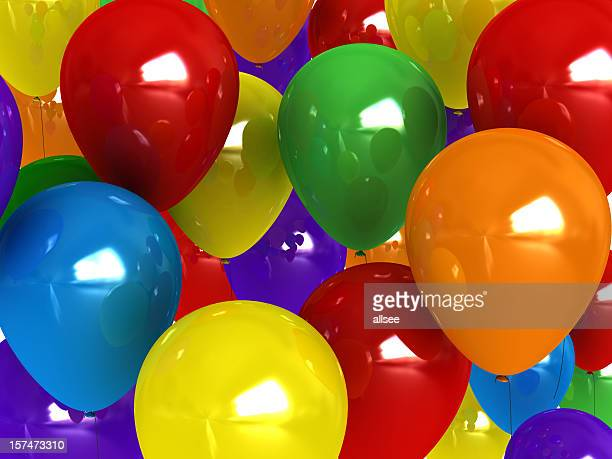 balloon background - graduation background stock pictures, royalty-free photos & images
