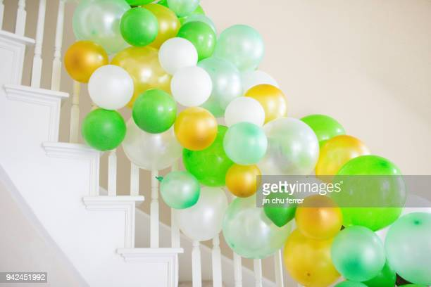 Balloon Decor for Cactus and Succulent Baby Shower