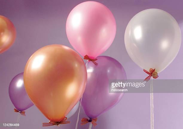 Balloon, Helium Balloon, Indoor, Medium Group Of Objects, Mid-Air