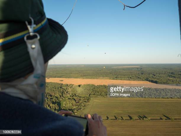 Balloon pilot during the competitions The Aeronautics championship takes place in the Nizhny Novgorod region 14 teams from Russia and Germany...