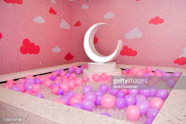 Balloon pool at WonderWorld Hollywood and Experience PopUp Opening Night Party on April 05 2019 in Hollywood California