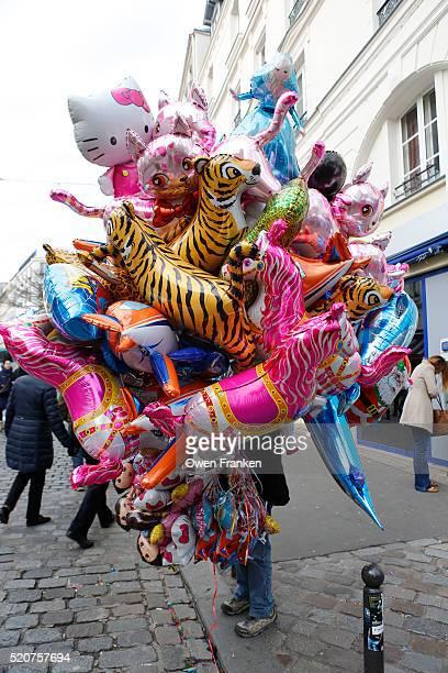 balloon seller, Paris