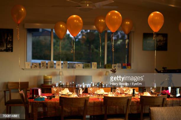Balloons On Table