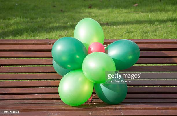 Balloons on the park