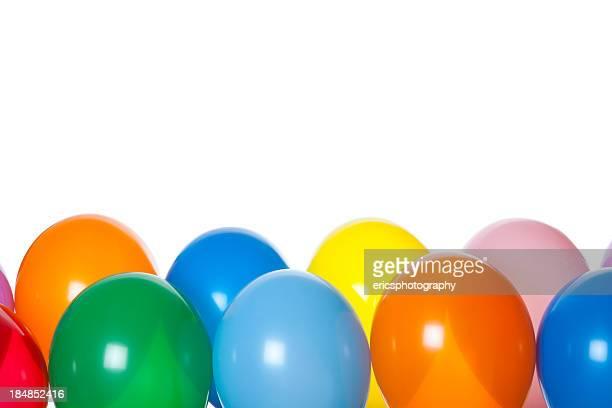 Balões em branco