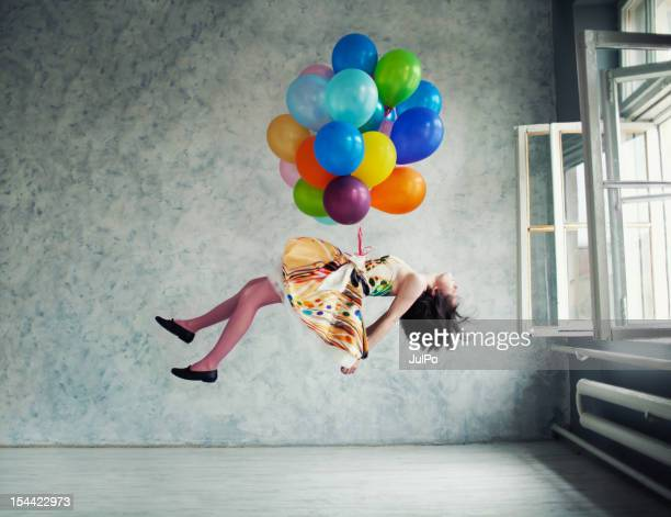 balloons - multi colored shoe stock pictures, royalty-free photos & images
