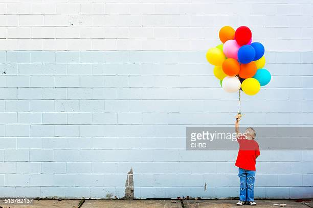balloons - multi colored stock pictures, royalty-free photos & images