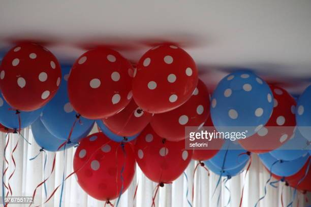 balloons - christmas beetle stock pictures, royalty-free photos & images