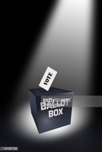 ballot box and vote - ballot box stock pictures, royalty-free photos & images