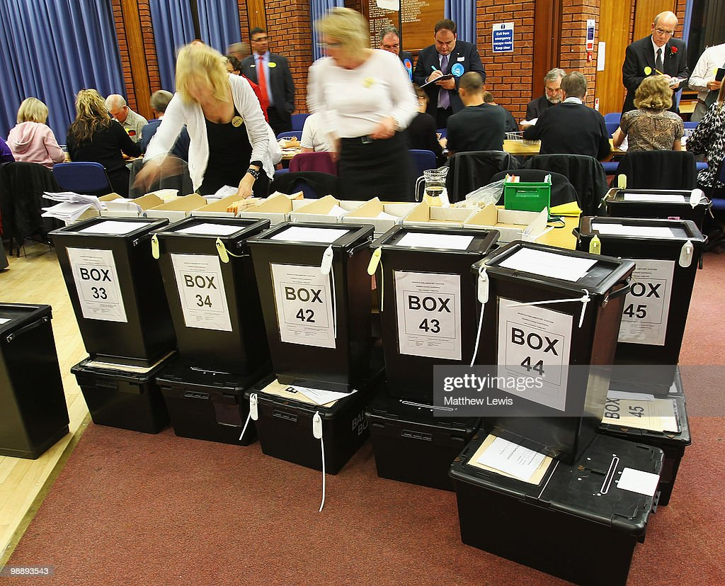 The 2010 General Election - The British Public Go To The Polls : News Photo