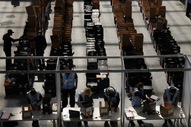 GBR: London Election Count And Declaration