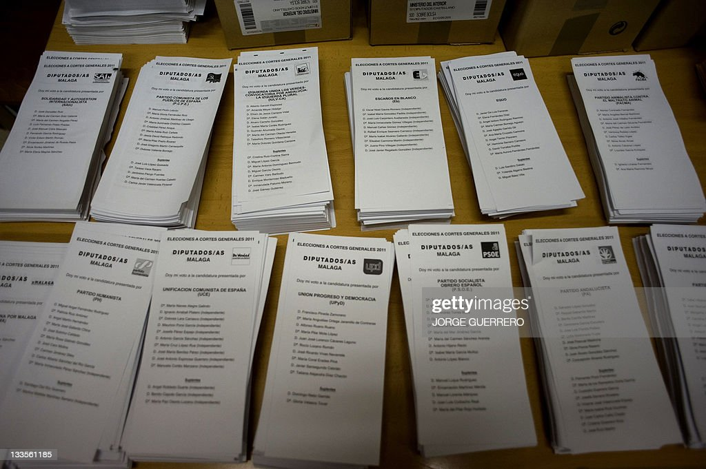 Ballots for Spain's general election are : News Photo