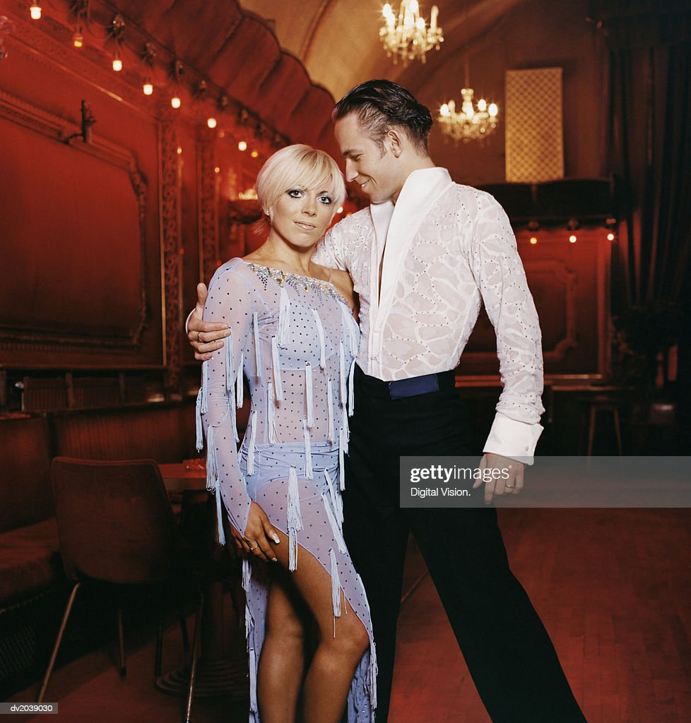 Ballroom Dancer Couple : Stock Photo