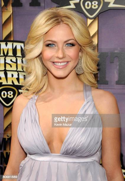 Ballroom dancer Julianne Hough attends the 2008 CMT Music Awards at Curb Event Center at Belmont University on April 14 2008 in Nashville Tennessee