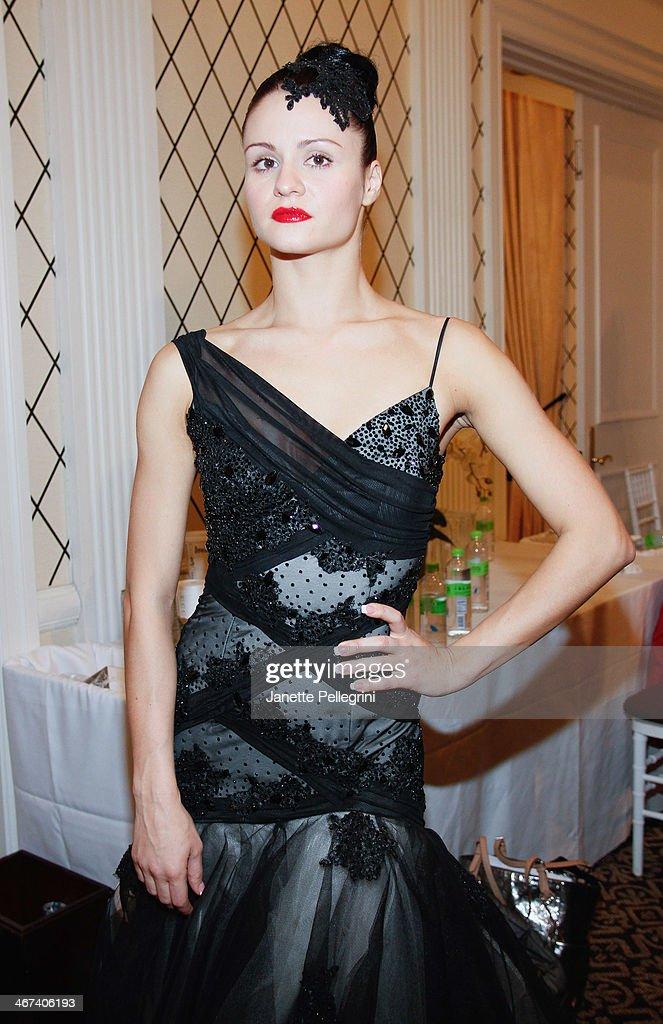 Ballroom Dancer Sasha Perzhu Attends The Dore Fashion Show During News Photo Getty Images
