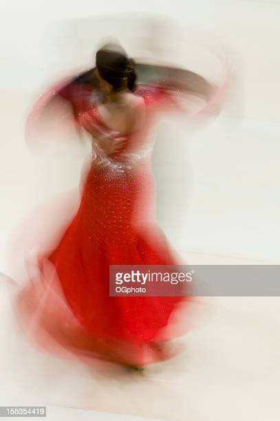 Ballroom dancers abstract