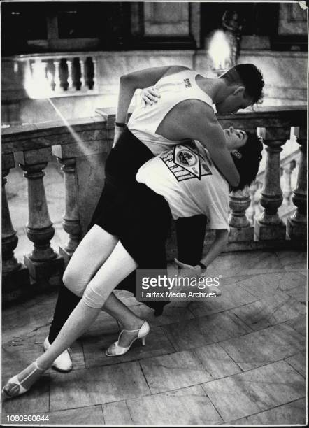 Ballroom Dancers Jason Gilkison 21y and Peta Roby 21y show ***** style at The State Theatre in the CityJason Gilkinson waltzed into his relationship...