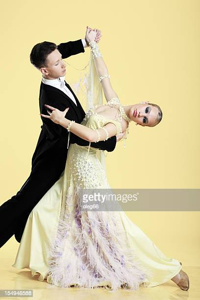 ballroom dancing - duet stock pictures, royalty-free photos & images