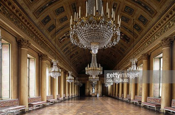Ballroom gallery Chateau de Compiegne 17511788 Oise France 18th century