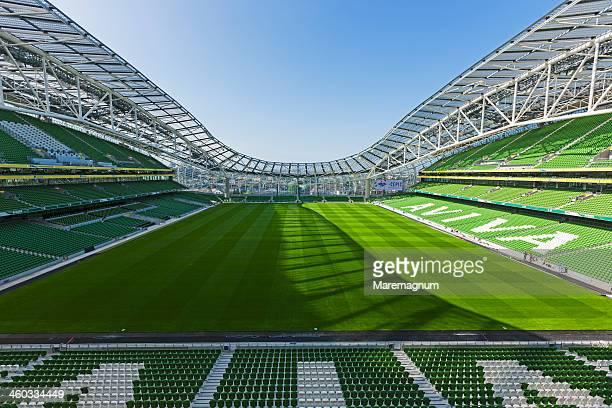 Ballsbridge, the new Aviva rugby stadium