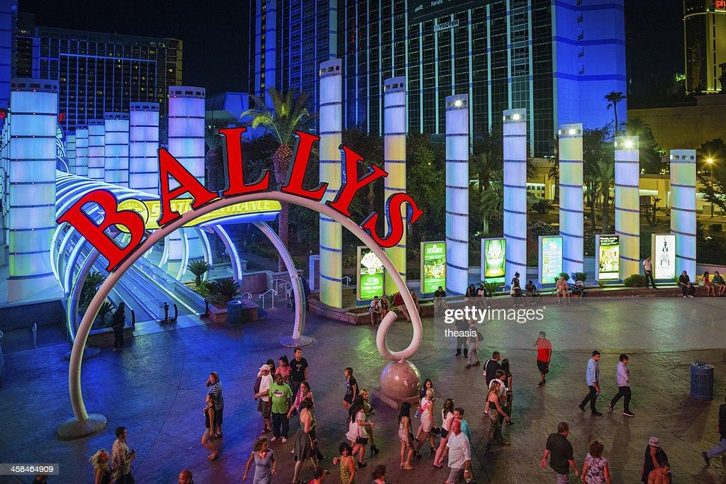 Bally's Hotel and Casino in Las Vegas : Stock Photo