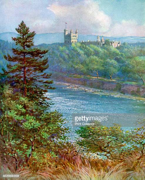 'Balmoral Castle' Aberdeenshire Scotland 19241926 Balmoral became the summer residence of the British Royal Family after Queen Victoria and Prince...