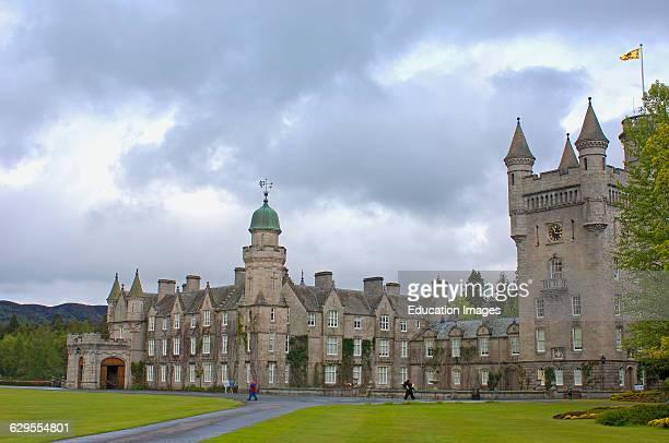 Balmoral Castle, Aberdeenshire, Scotland, UK.