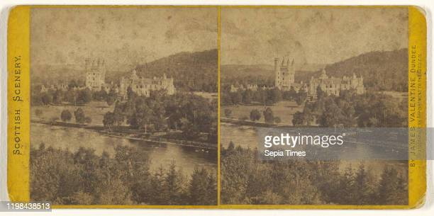 Balmoral Castle from North West of River James Valentine 1870s Albumen silver print