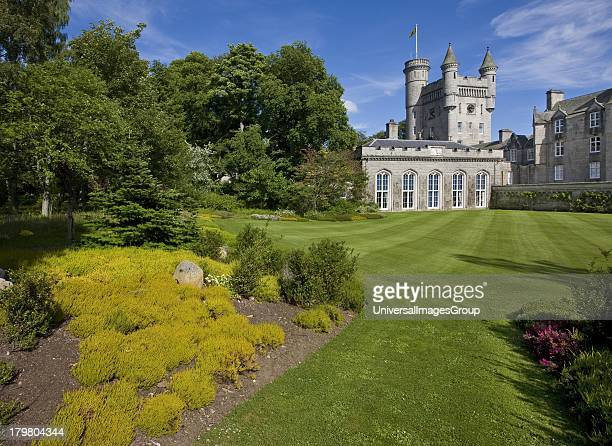 Balmoral Castle Royal Deeside Residence of the British Royal Family Aberdeenshire Scotland United Kingdom