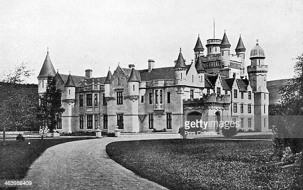 Balmoral Castle Scotland c1920 Queen Victoria's favourite royal residence Illustration from Story of the British Nation Volume IV by Walter Hutchinson