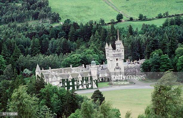 Balmoral Castle The Personal And Private Property Of The Queen Is Used By The Royal Family For Eight To Ten Weeks Each Year During August September...