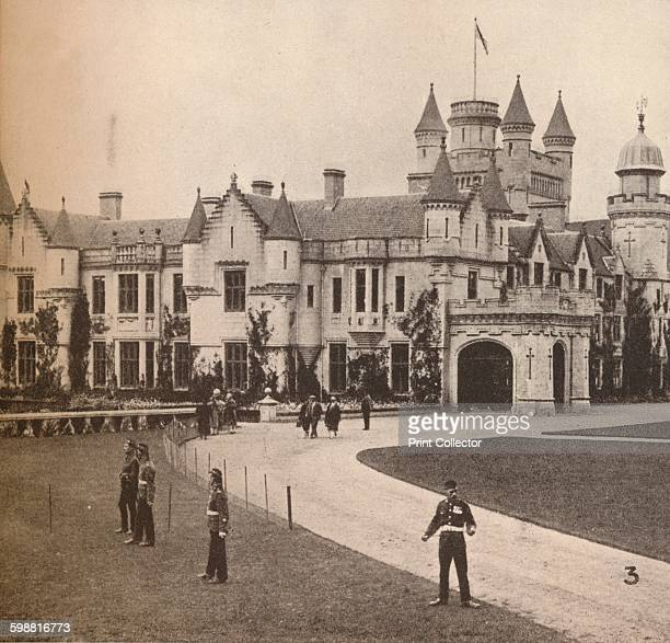 Balmoral Castle, Their Majesties Highland Home, circa 1916, . From His Majesty The King 1910-1935. [Associated Newspapers Ltd., London, 1935] Artist:...